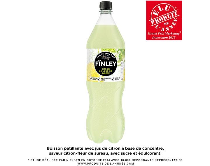 FÏNLEY Citron & Fleur de Sureau 1,5L