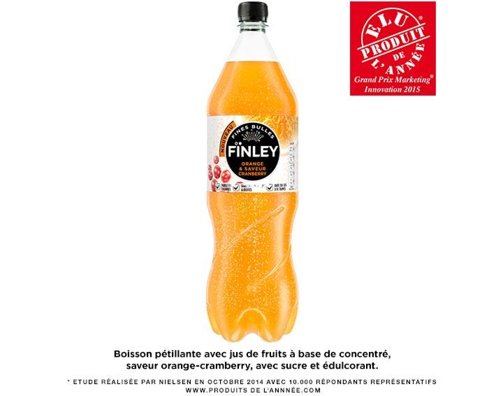 FÏNLEY Orange & Saveur Cranberry 1,5L