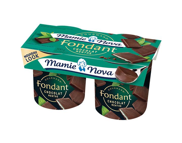 Fondant - Chocolat Menthe