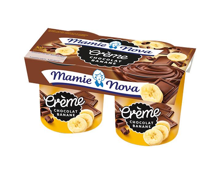 Crème - Chocolat Banane