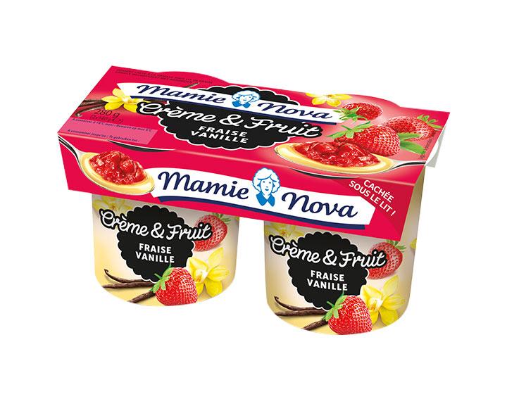 Crème et Fruit - Fraise Vanille