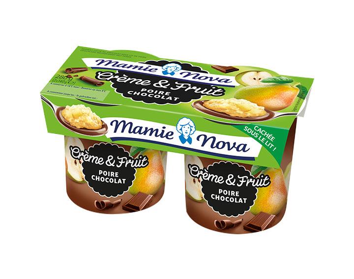 Crème et Fruit - Poire Chocolat