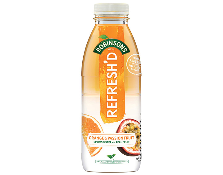 Orange & Passion Fruit 500ml