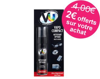 VU Vapo Compact nettoyant optique