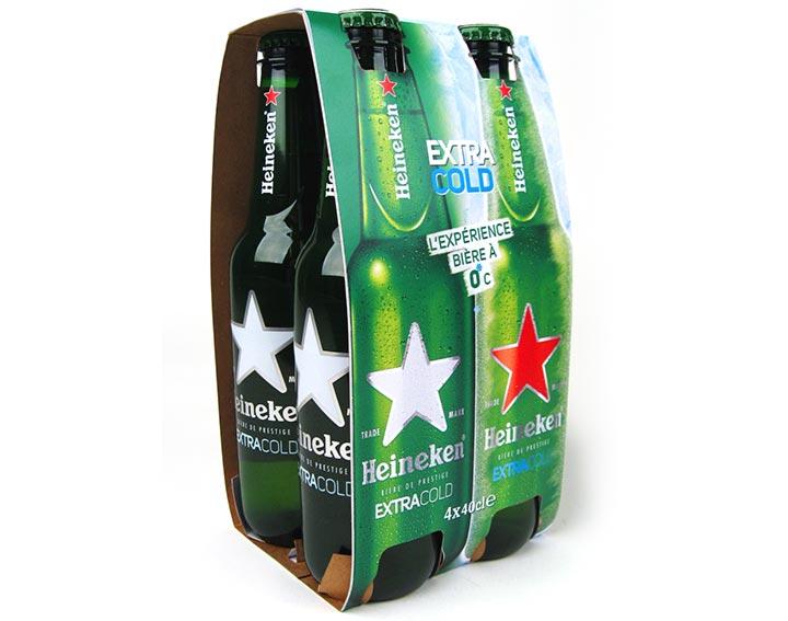Heineken Extracold 4x40 cl