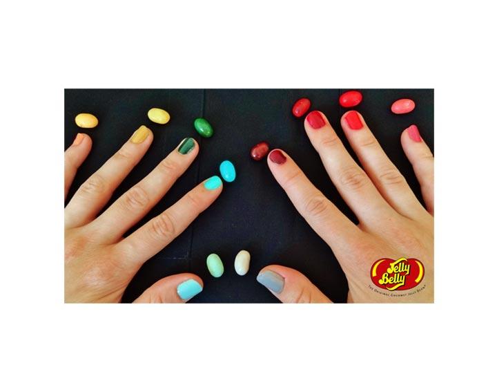 100% remboursé si vous partagez une photo de votre paquet de bonbons Jelly Belly mis en situation