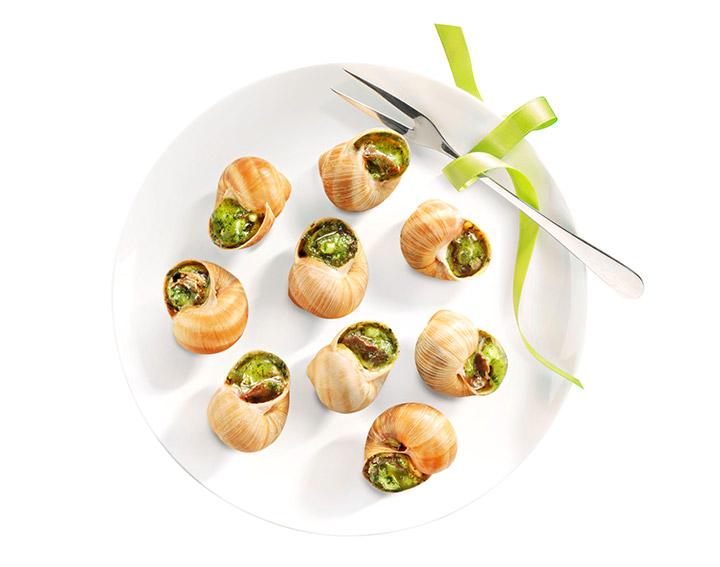 Assiette de 12 escargots de Bourgogne très gros - 7,65€