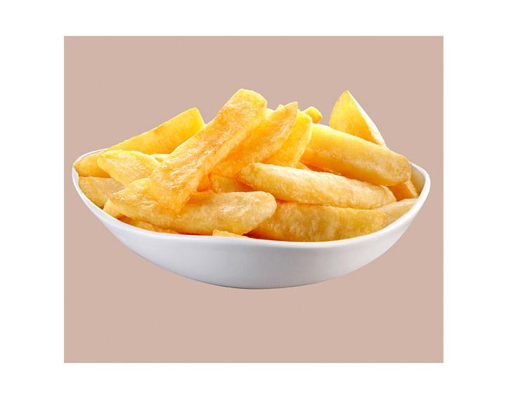 Frites coupe large: 1,95€ - 1kg