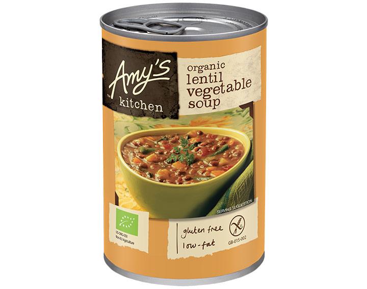 Organic Lentil Vegetable 400g
