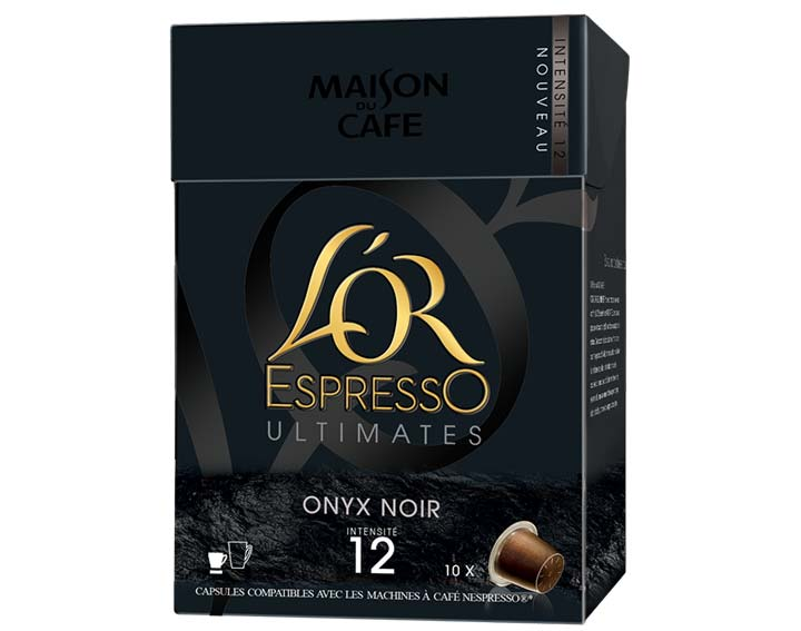 Capsules L'OR EspressO Onyx Noir