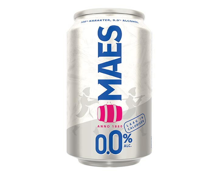 Maes 0.0% canette 1x33cl