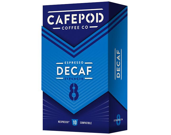 Decaf 10 capsules 55g