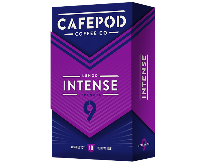 Intense 10 capsules 55g