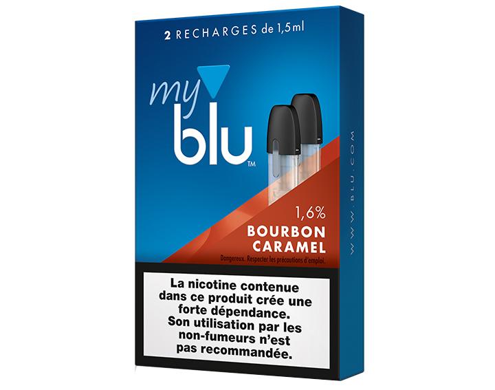 Saveur Bourbon Caramel (0%, 0,8% ou 1,6%)