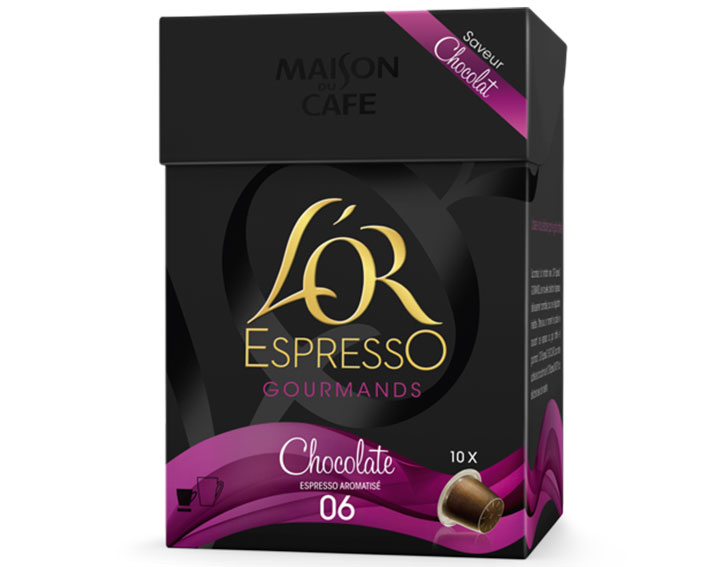 Capsules L'OR EspressO Chocolate