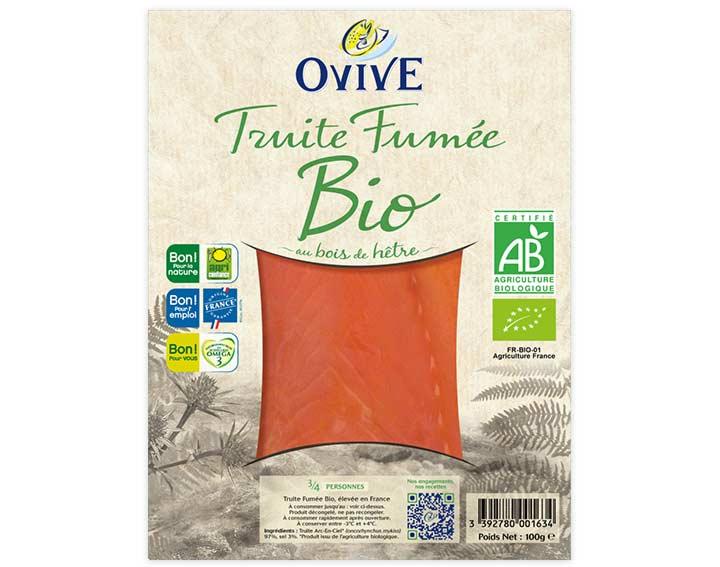 Truite Fumée Bio 3/4 tranches