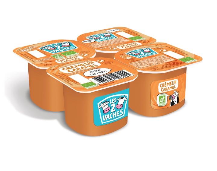 Les 2 Vaches - Crèmeuh dessert Caramel