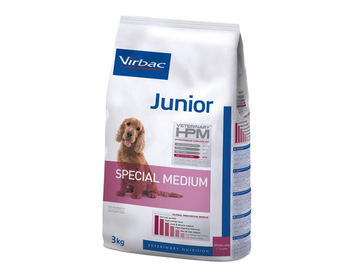 Junior (3kg, 7kg ou 12kg)