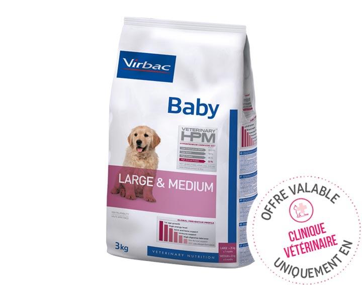 Baby (3kg, 7kg ou 12kg)
