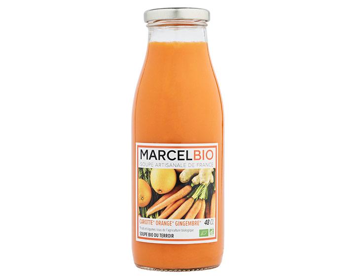 Carotte Orange & Gingembre