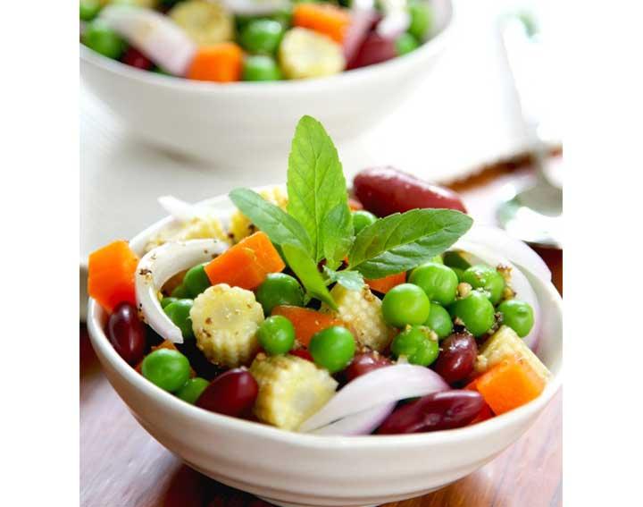 Salade composée colorée http://www.bonduelle.fr/recettes/salade-composee-coloree