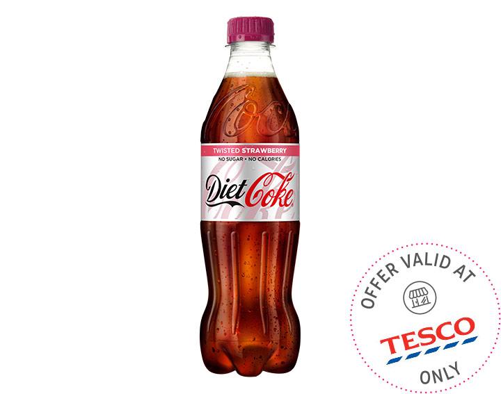 Diet Coke Twisted Strawberry 500ml