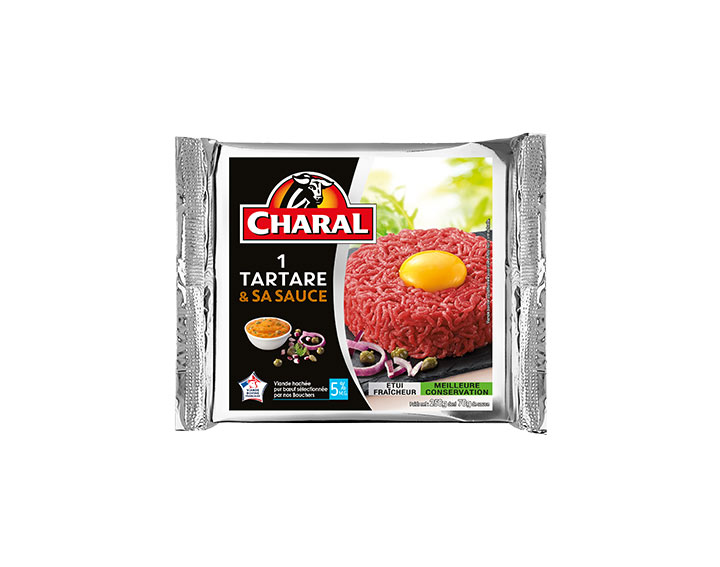 Tartare & sa sauce relevée x1 (250g)