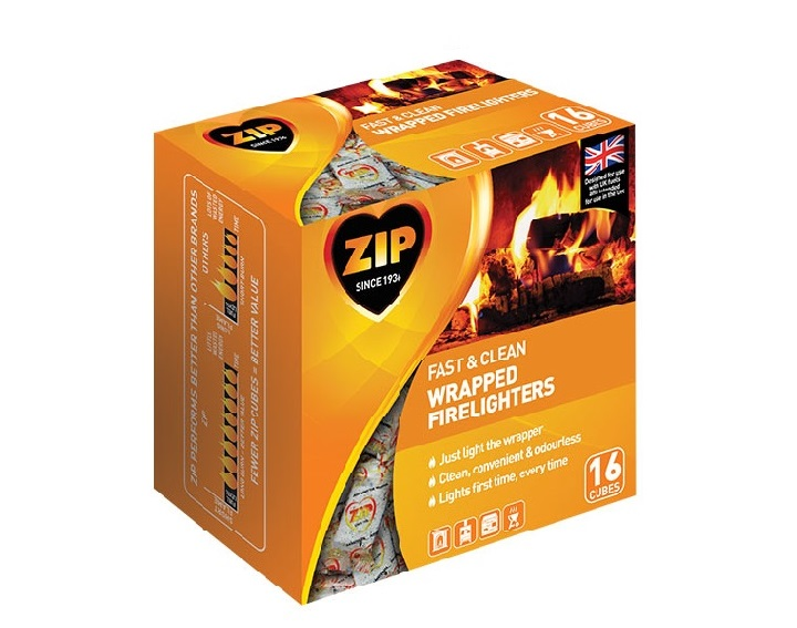 Wrapped Firelighters 16 cubes
