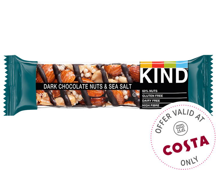Dark Chocolate Nuts & Sea Salt 40g
