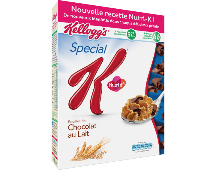 Special K Chocolat au Lait avec sa nouvelle recette Nutri K - 300g