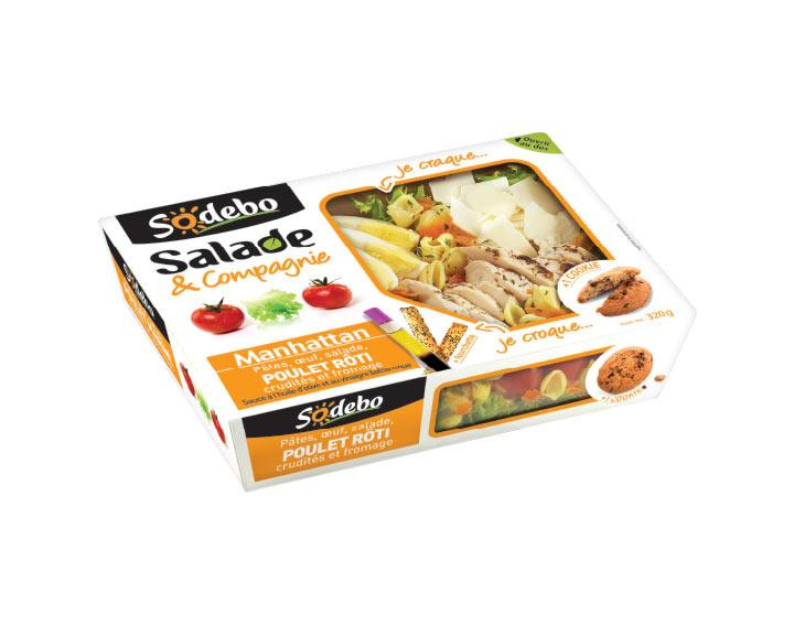 Sodebo - Salade Manhattan