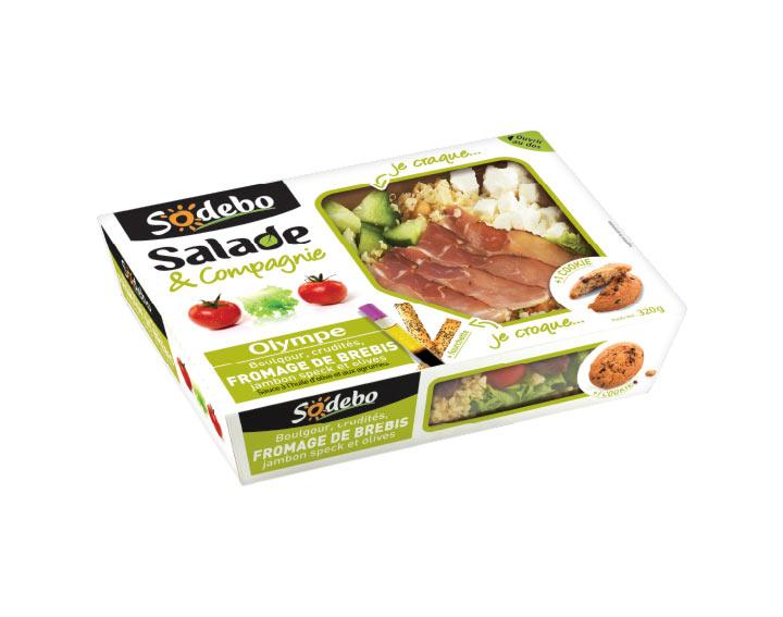 Sodebo - Salade Olympe