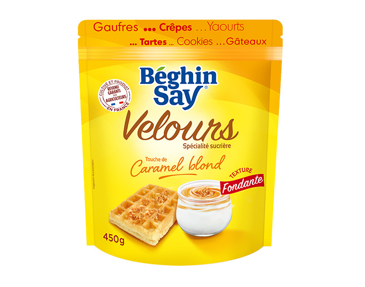 Velours touche de Caramel blond 450g