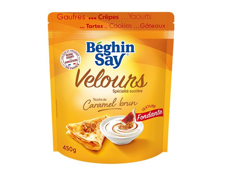 Velours touche de Caramel brun 450g