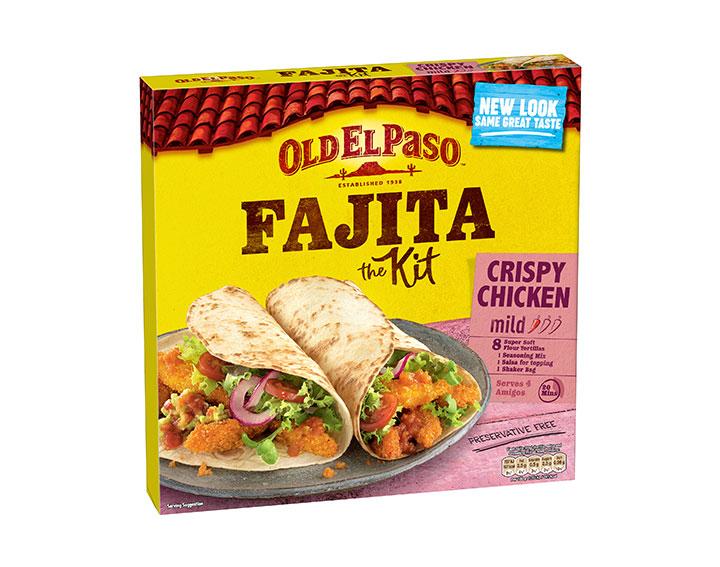 Crispy Chicken Fajita Dinner Kit 555g
