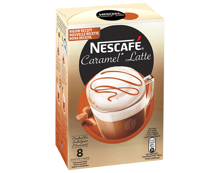Caramel Latte 8 sachets