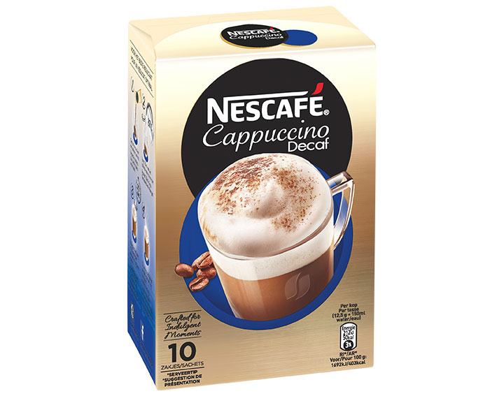 Cappuccino Decaf 10 sachets