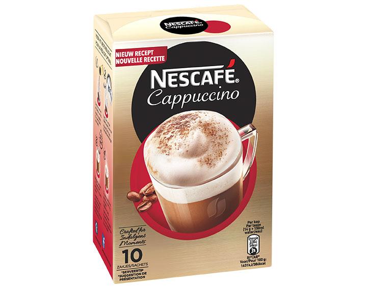 Cappuccino 10 zakjes