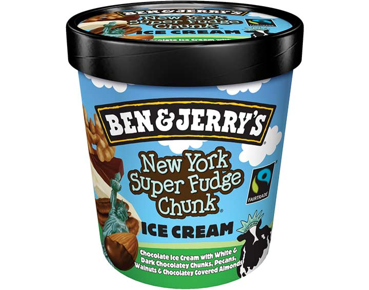 Ben & Jerry's New York Super Fudge Chunk 500ml