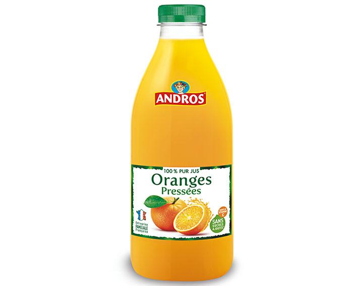 Pur jus d'Oranges pressées