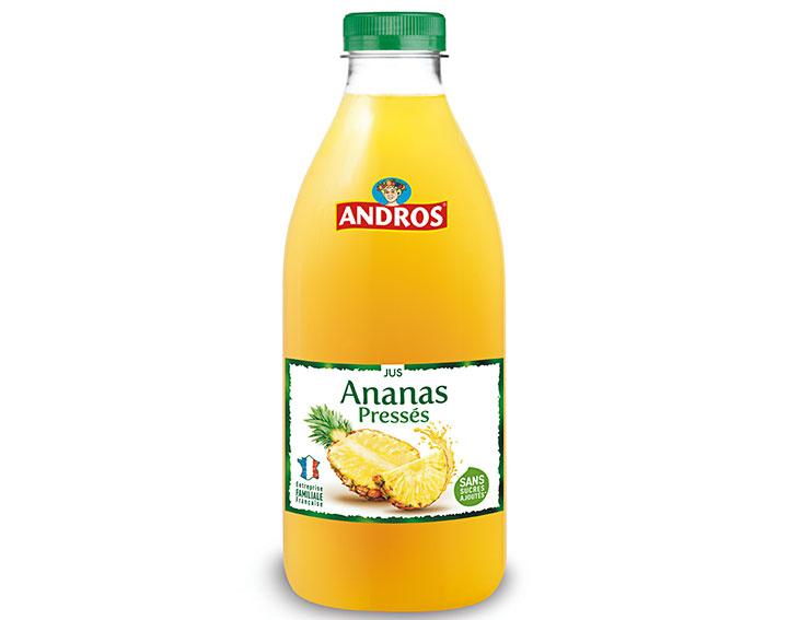 Jus d'Ananas pressés