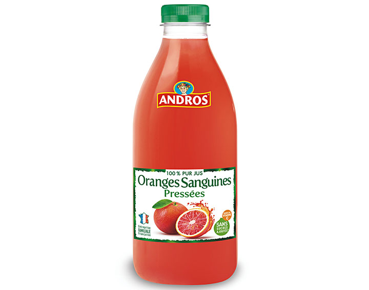Pur jus d'Oranges sanguines pressées