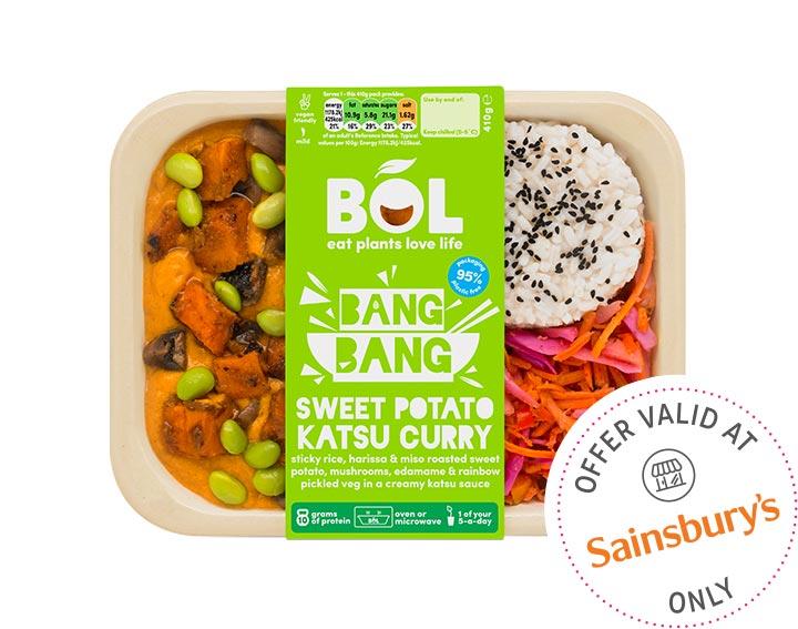Bang Bang Sweet Potato Katsu Curry 410g