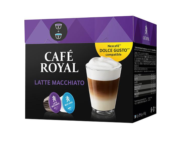 Capsules Café Royal Latte Macchiato