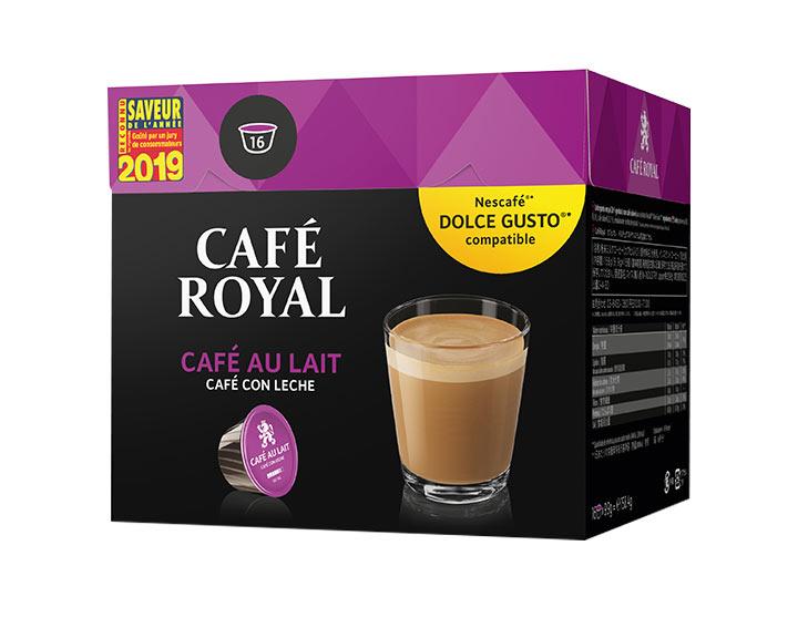 Capsules Café Royal Café au Lait