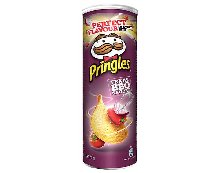 Pringles saveur Texas Barbecue Sauce 175g