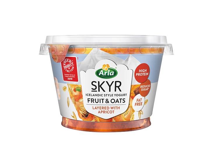 Fruit & Oats Apricot 190g