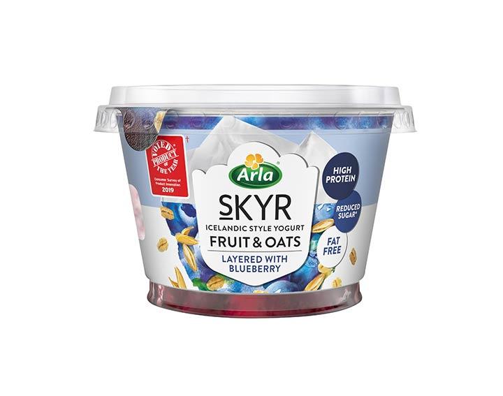 Fruit & Oats Blueberry 190g