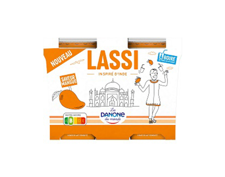 Le Lassi Mangue, inspiré d'Inde x2