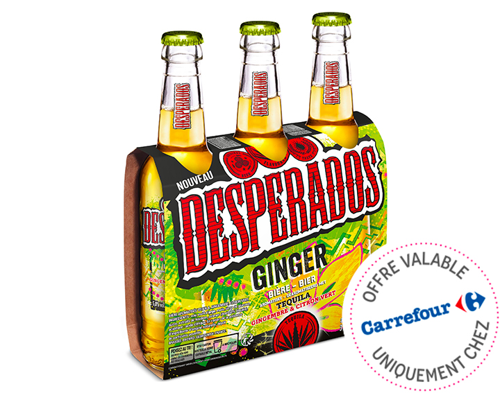 Desperados Ginger 3x33cl